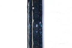 Glassbilde Fuset glass (90x8 cm) kr 1400