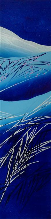 Mot en vinternatt II Linosnitt (80x20 cm) kr 3000 ur