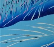 Mot en vinternatt I Linosnitt (80x20 cm) kr 3000 ur
