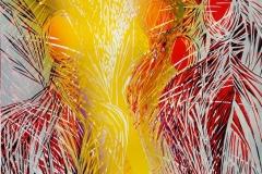 Sommeropplevelser Linosnitt (89x62 cm) kr 7200 ur
