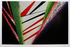 De store kontraster I Linosnitt (64x42 cm) kr 2800 ur