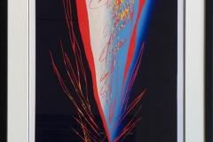 Før alt blir stille III Linosnitt (80x43 cm) kr 6400 mr