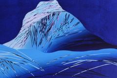 Fjellets netter Linosnitt (51x63 cm) kr 4300 ur