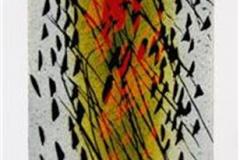Maidans Linosnitt (12,5x9 cm) kr 1100 ur