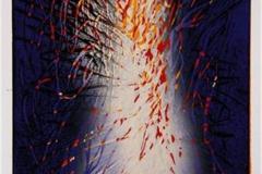 Mot en ny vinter I Linosnitt (23x16 cm) kr 1500 ur