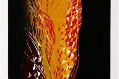 Mot lyset II Linosnitt (21x18 cm) kr 1300 ur