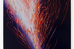 Spor av lys Linosnitt (60x36,5 cm) kr 2600 ur