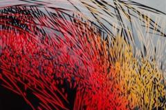 Vinterens ankomst Linosnitt (80x48 cm) kr 5100 ur