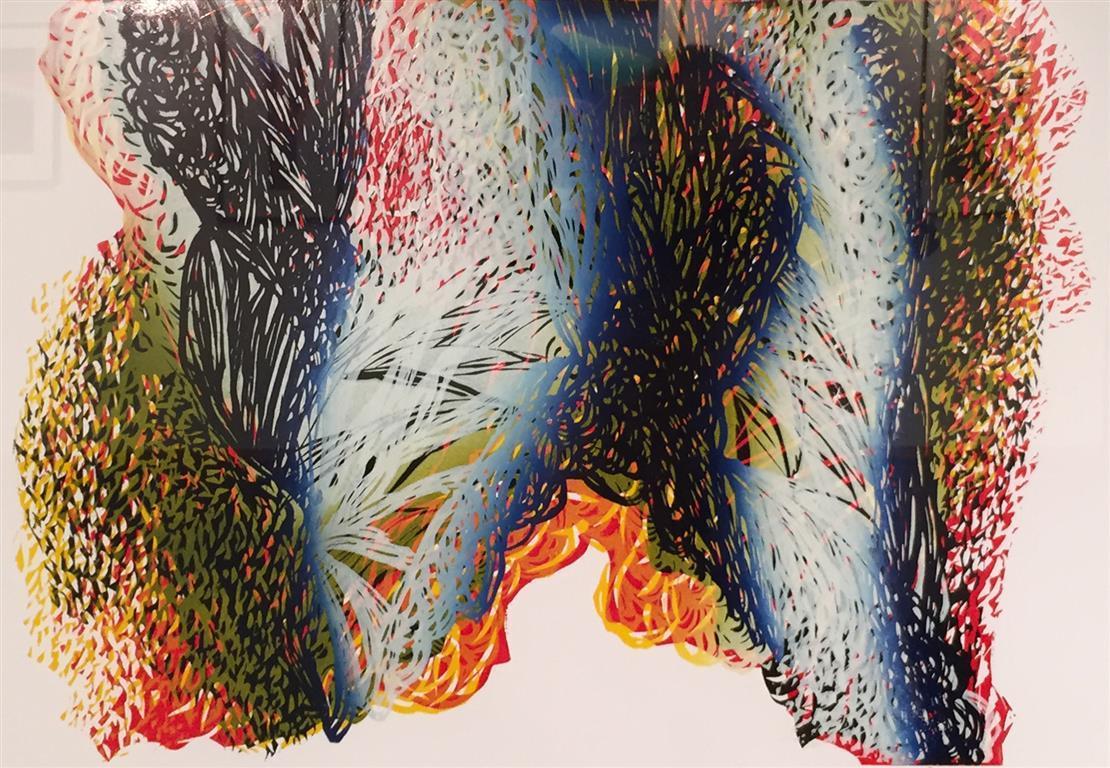 Fjellfarger I Lino 48x68 cm 3500 ur