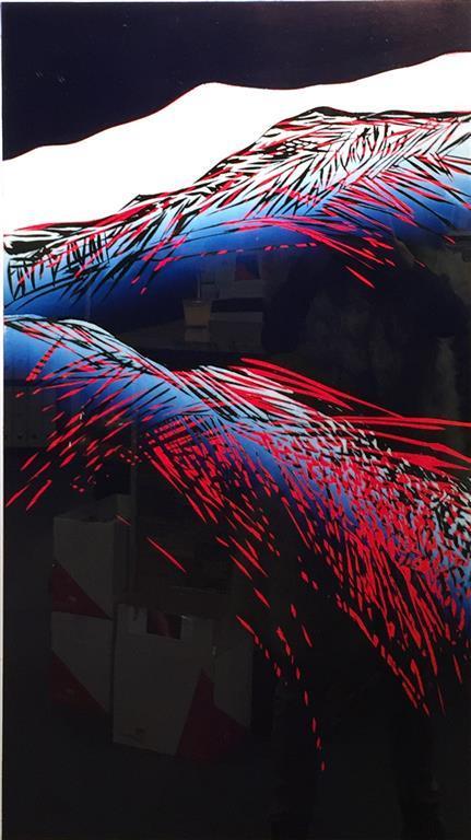 Mot en polarnatt I Lino 80x45 cm 4500 ur