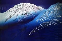 Mot en polarnatt II Lino 60x75 cm 5500 ur