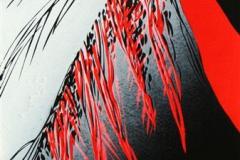 Natten trer frem I Lino 80x35 cm 3700 ur