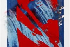Uvaer IV Silketrykk, pastell 30x22 cm 1500 ur