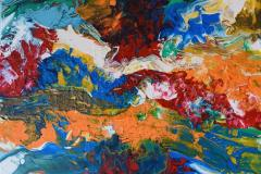 Ocean of Colours Akrylmaleri (46x55 cm) kr 4500 ur