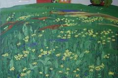 Ved soer Eigeroeya Akrylmaleri 50x60 cm 5000 mr
