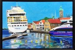 FG 103 Akrylmaleri (40x60 cm) kr 4200 mr