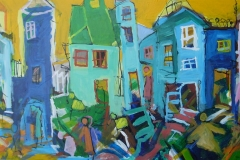 Å 144 Akrylmaleri (63x103 cm) kr 8600 mr