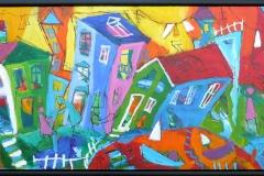 CA103 Akrylmaleri (44x104 cm) kr 6900 mr