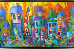 MN113 Akrylmaleri (54x94 cm) kr 6500 mr