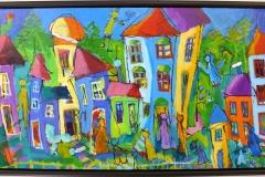 MN115 Akrylmaleri (44x74 cm) kr 4800 mr