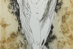 Du er en engel Etsning (30x18 cm) kr 1500 ur