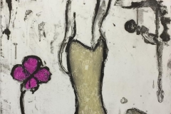 Flower wave Etsning (60x50 cm) kr 3400 ur