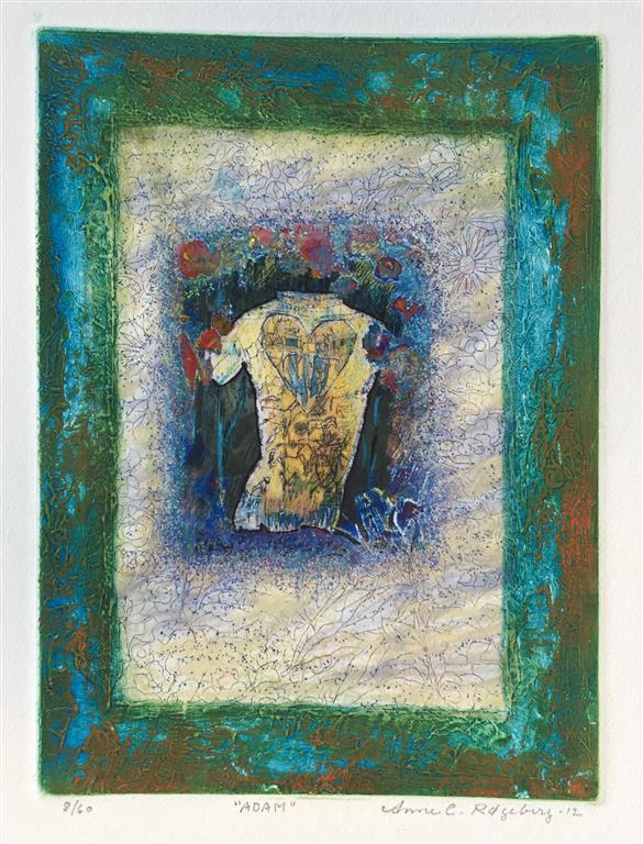 Adam Etsning (21x16 cm) kr 900 ur