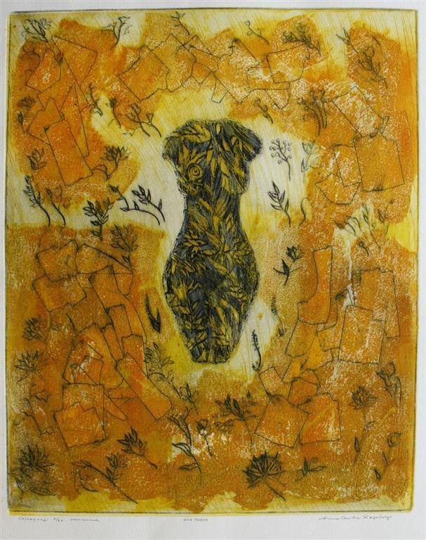 Eva Torso Collagrafi (46x37,5 cm) kr 3700 ur