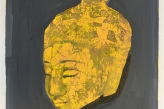 Buddha Håndkolorert serigrafi (25x21 cm) kr 1800 kr