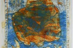 Samtale II Collagrafi 45,5x37,5 cm 3500 ur