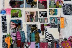 14. Exhibition Akrylmaleri (70x70 cm) kr 7000 ur