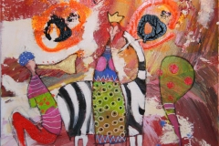 Lurest Akrylmaleri 40x40 cm 4000 mr