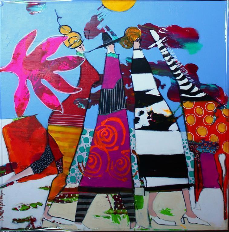 Which Direction Akrylmaleri (60x60 cm) kr 6500 mr