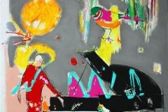 Its a Joke Akrylmaleri (100x80 cm) kr 9500 ur