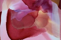 Farger og flyt IX Akrylmaleri (60x60 cm) kr 6000 ur