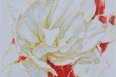 Celestial Flowers III Oljemaleri (70x70 cm) kr 11000 ur