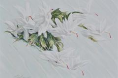 Celestial flowers II Oljemaleri (60x80 cm) kr 12500 ur