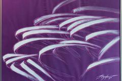 Rhythm VI Pastell, tempera på papir (50x70 cm) kr 6000 mr