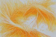 Sunny Gardens XIII Oljemaleri (38x46 cm) kr 6000 ur