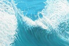 The Wave II Oljemaleri (120x90 cm) kr 14500 ur