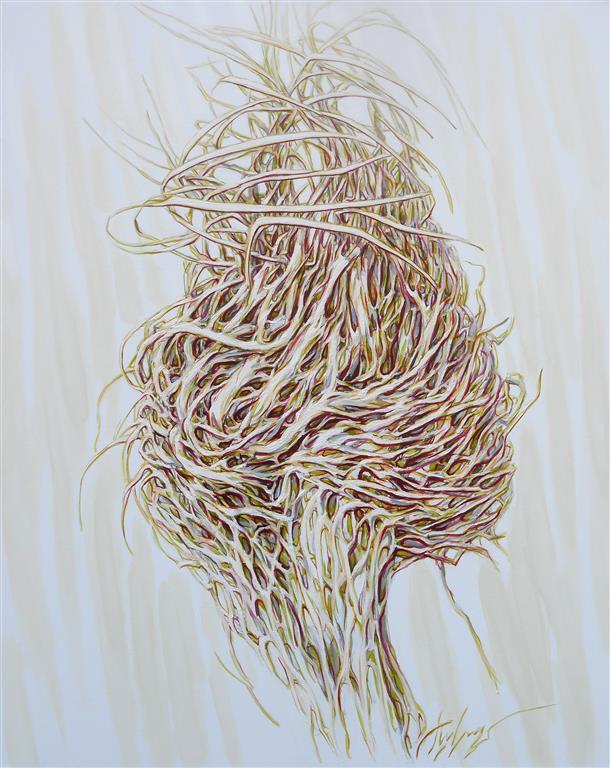 Celestial Roots I Oljemaleri (100x80 cm) kr 12500 ur
