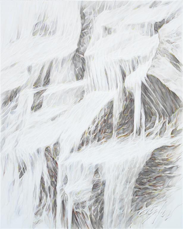 North fairytale II Oljemaleri (100x80 cm) kr 12500 ur