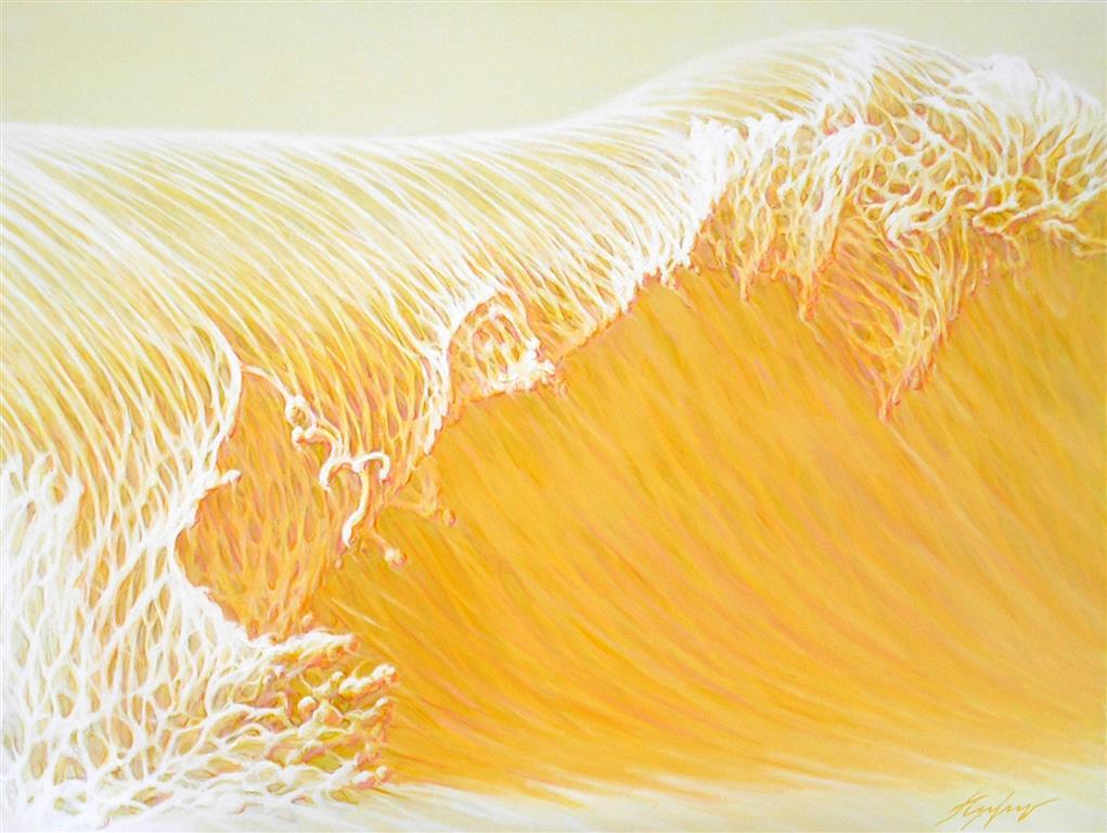The Wave I Oljemaleri (90x120 cm) kr 14500 ur