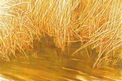 Sunny Gardens III Oljemaleri (100x50 cm) kr 7000 ur