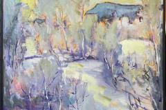 Lys dag Maleri (80x80 cm) kr 14000