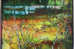 Myrlandskap Akrylmaleri (80x80 cm) kr 11000 mr
