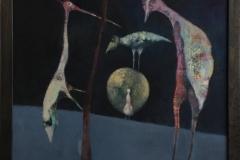 Trine Støren: Lille meg Akrylmaleri (60x73 cm) kr 8000 mr