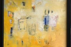 Trine Støren: Tidlig morgen Akrylmaleri (51x62 cm) kr 7700 mr