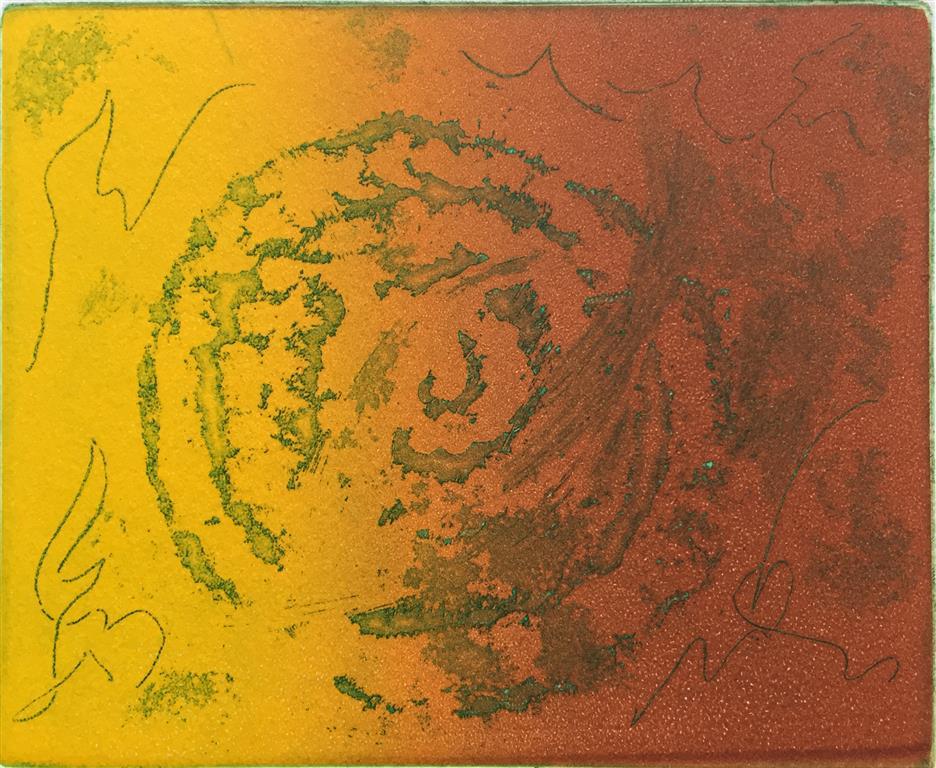 Tegn Etsning (13x15 cm) kr 450 ur