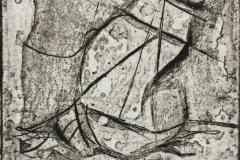 Seilas Etsning (6x6 cm) kr 150 ur